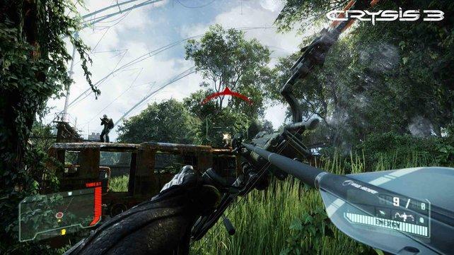 Crysis 3 lässt die Grafikmuskeln spielen.