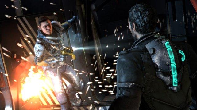 Entwickler Visceral Games inszeniert Dead Space 3 teilweise filmreif.