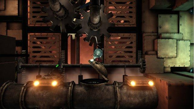 Unmechanical gefällt mit seinem Stahl-Rost-Aussehen.
