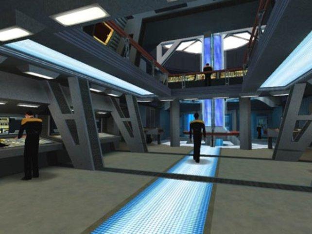 Auf dem Deck der Voyager