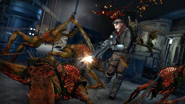 THQ erweitert die Red-Faction-Welt mit Film, Comic und Machinima.