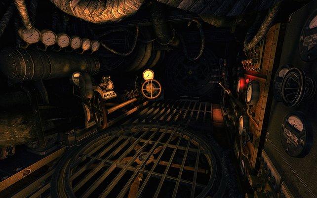 Anstatt wie im Vorgänger eine Burg zu erkunden, erforscht ihr nun eine Maschine von innen.