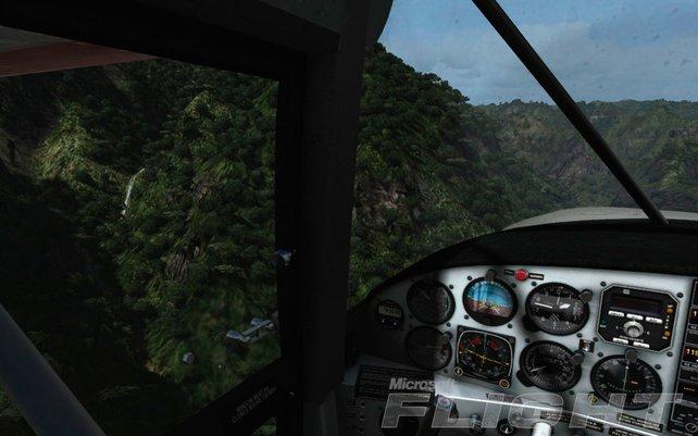 Freie Rundumsicht im detaillierten Cockpit sorgt für das Plus an Realismus.