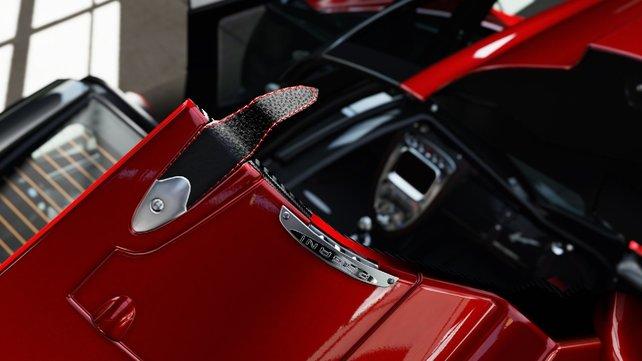 Im Forzavista-Modus könnt ihr euch jedes Auto bis ins kleinste Detail genau anschauen.