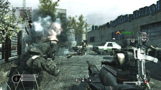 Im Mehrspielermodus ist je nach Spielmodi auch Teamwork gefragt.