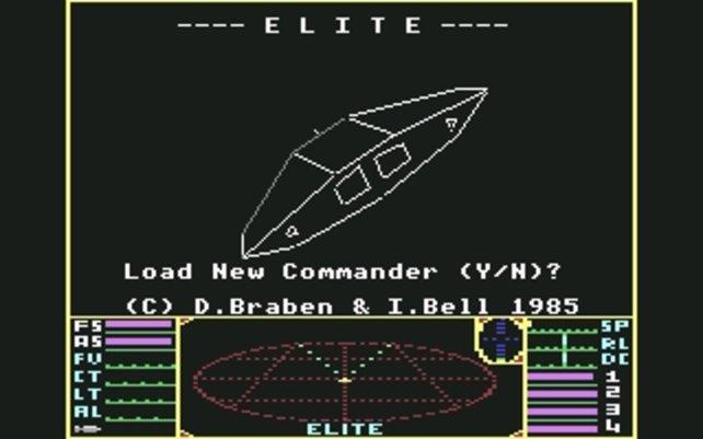 Elite: Weltraumspiel für echte Kerle.