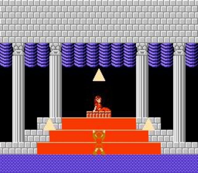 Zelda 2 spielt zum großen Teil in klassischer Seitenansicht.