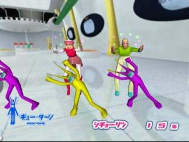 Das sind die bösen Aliens die nur tanzen wollen