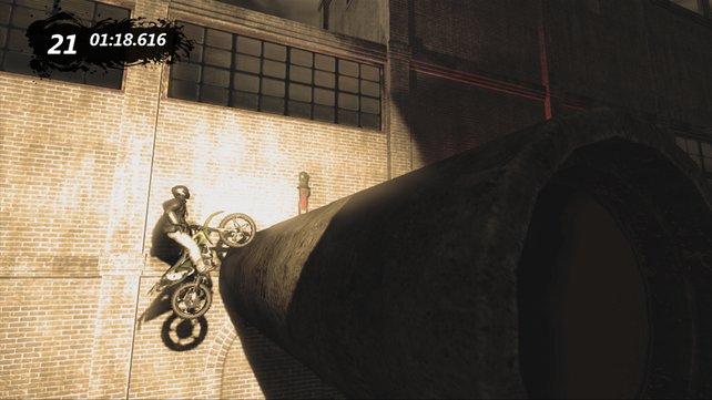 Auf solche Verrücktheiten würde sich ein echter Motorradfahrer kaum einlassen.