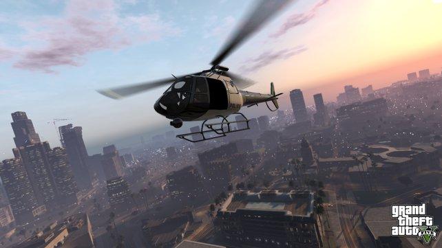 Große Hoffnungen setzt die Spielewelt in das kommende Grand Theft Auto 5.