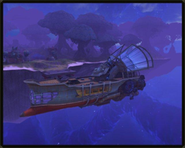 Die Astralschiffe sind ein überragendes Feature in der fortgeschrittenen Spielphase.