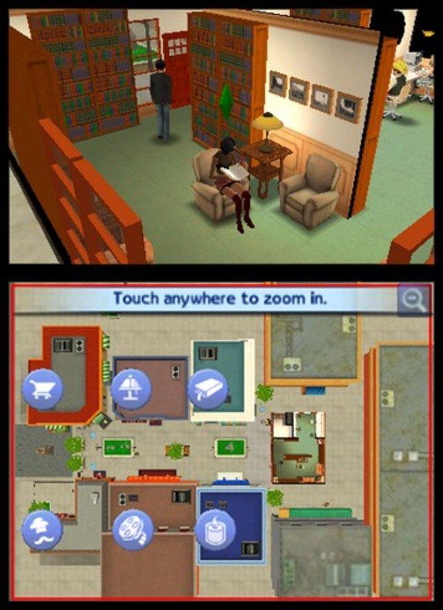 Die Sims bevölkern nun auch den 3DS und lassen sich erneut von euch kontrollieren.