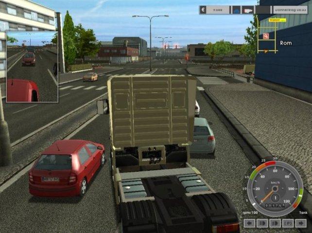 Das Fernfahrergeschäft in all seinen - manchmal öden - Facetten: Euro Truck Simulator.