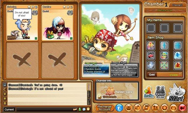 DDTank bietet ein rundenbasiertes Spielerlebnis in einer bunten Manga-Welt.