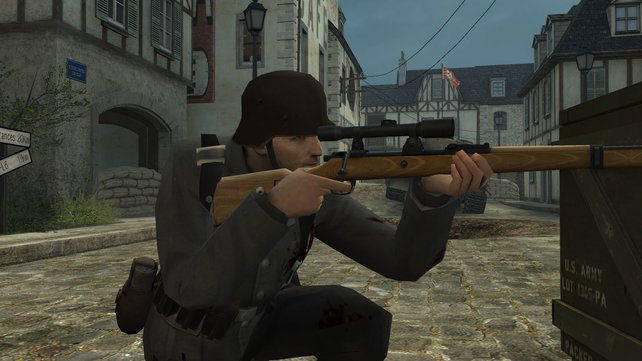 Auch die berühmt gerüchtigten Sniper sind wieder unterwegs