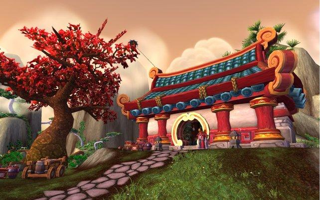 """""""Stille ist im Pavillon aus Jade. Krähen fliegen stumm zu beschneiten Kirschbäumen im Mondlicht. Ich sitze Und weine."""""""