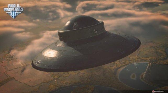 Ufos in World of Warplanes gesichtet!