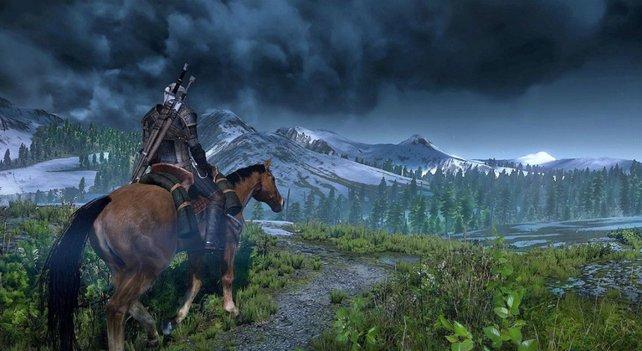 Weitläufig und schön, aber nicht frei von Füllwerk: Die Welt von The Witcher 3.
