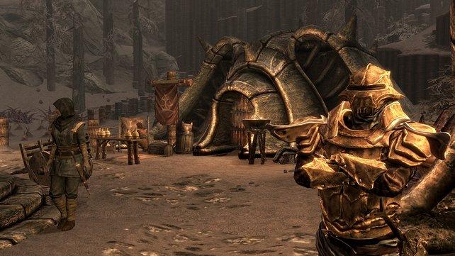 Die Dunmer haben den Charme von Morrowind nach Rabenfels gebracht.