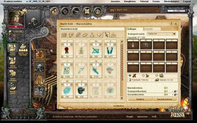 Gilde 2 Browsergame