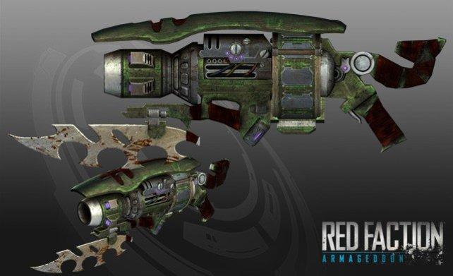 Die Spezial-Editionen enthalten neben neuen Klamotten auch vier exklusive Waffen, wie die RX-5000-Wumme.