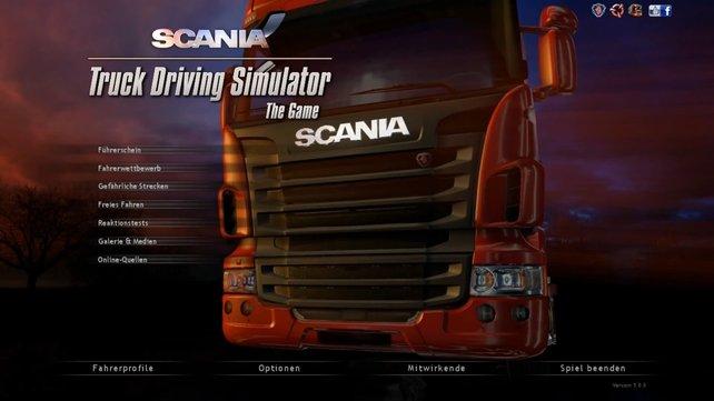 Dieser rote Truck lässt das Herz so manches Brummi-Fahrers höher schlagen.