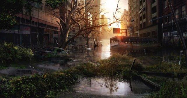 Nachdem die Menschheit verschwindet, macht sich die Natur breit.