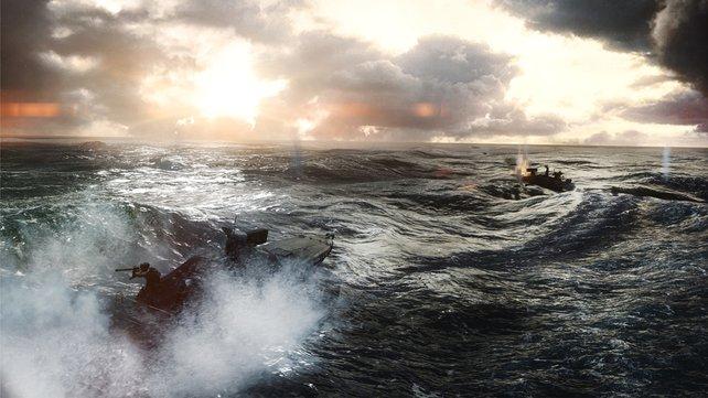 In Battlefield 4 geht es zu Land, zu Wasser und in der Luft heiß her!