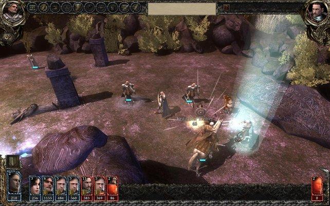 Mit den richtigen Kameraeinstellungen spielen sich die schick animierten Kämpfe schön flott.
