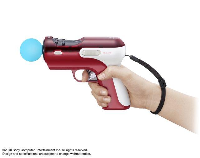 Von Sony kommt dieser Pistolen-Aufsatz.