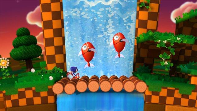 Bei diesem Anblick wird langjährigen Sonic-Anhängern warm ums Herz.