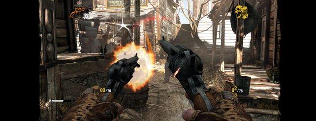 Silas ist ein gefürchteter Revolverheld (Call of Juarez - Gunslinger).