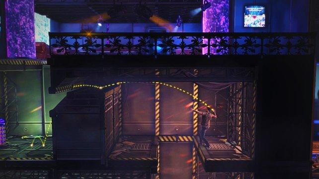 Eine der neuen Funktionen sind Granaten, mit denen ihr Gegner um Ecken herum erledigt und Schalterrätsel löst.