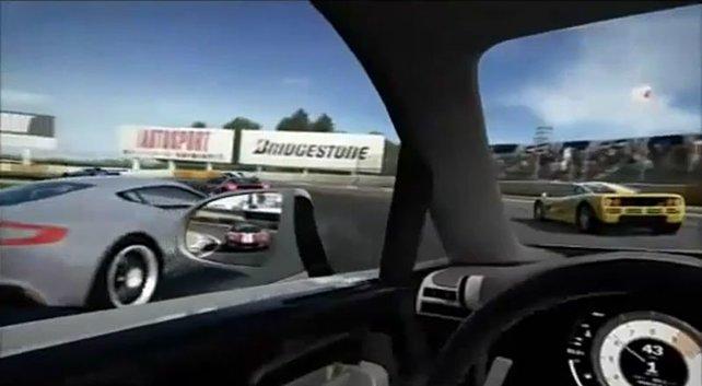 Konsequente Kinect-Unterstützung - vom Autosalon bis zur Cockpitkamera.