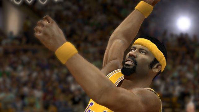 NBA-Legenden wie Wilt Chamberlain sehen ihren Vorbildern sehr ähnlich.