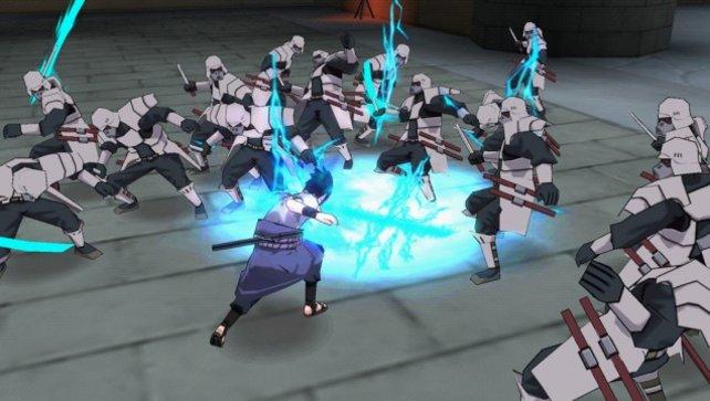 In Ultimate Ninja Impact prügelt ihr euch mit bekannten Ninjas durch Gegnermassen.