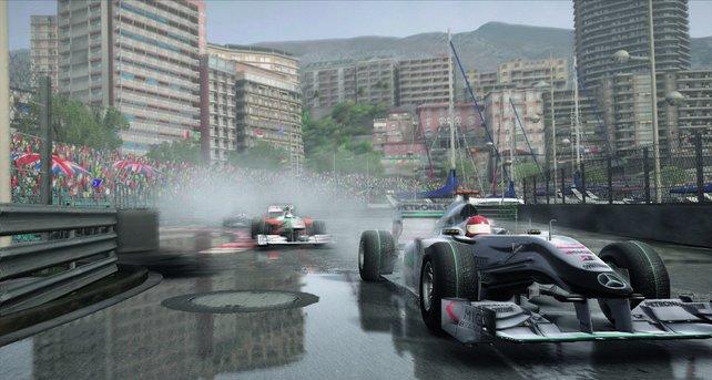 In Monaco kann schon ein kleiner Fehler schlimme Folgen haben.