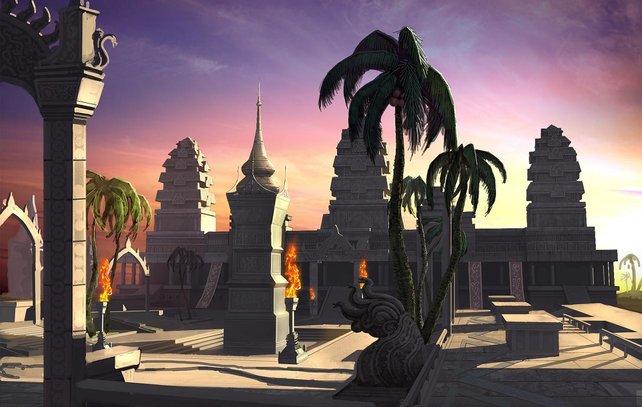 Eine wunderschöne Spielwelt und bekannte Orte aus unserer Zeit.