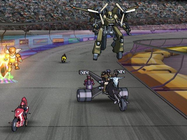 Auch heutige Formel-1-Rennen könnten mit solchen Monstern an Schwung gewinnen.