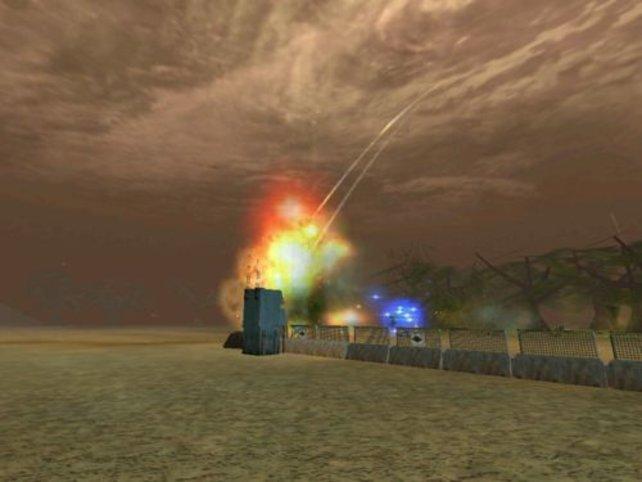 Eine gewaltige Explosion.