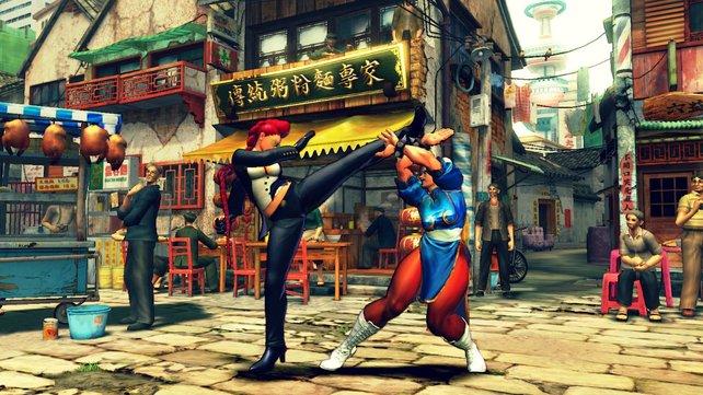 Chun Lin bekommt Konkurrenz.