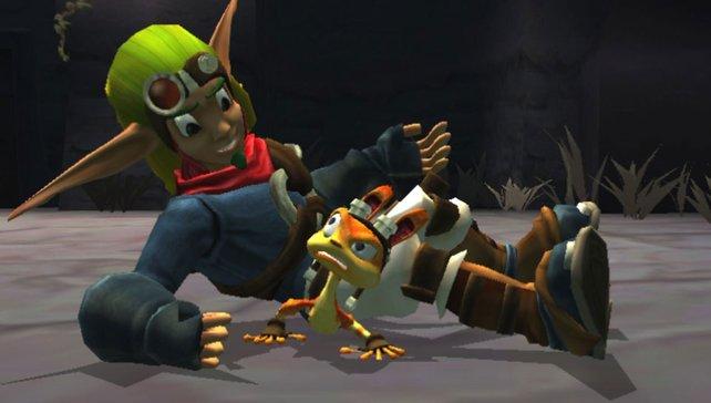 Ein Wiedersehen mit alten PS2-Haudegen: Jak und Daxter sind zurück.