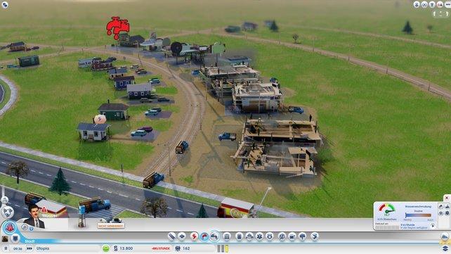 Die Glassbox-Engine trägt dazu bei, dass ihr während der Aufbauphase die Stadt wachsen sehen wollt.