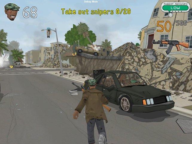 Besucht L.A. die Stadt der Trümmer.
