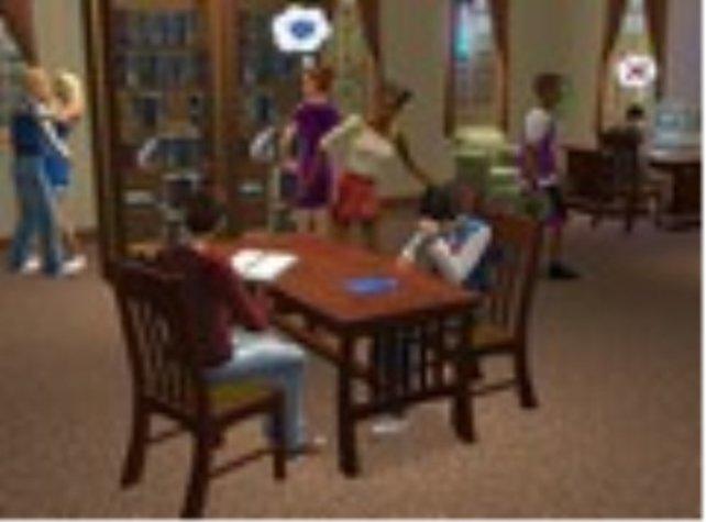 Lernen, Essen, Tanzen - eben ein ganz normales Studentenwohnheim