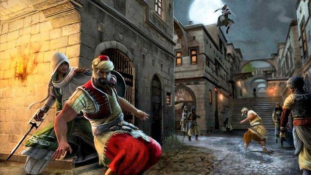 Der gute Ezio feiert hier seinen letzten Auftritt.