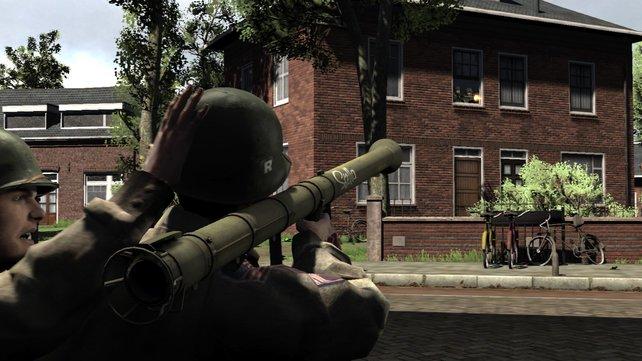 Zum neuen Arsenal gehört auch eine Bazooka!