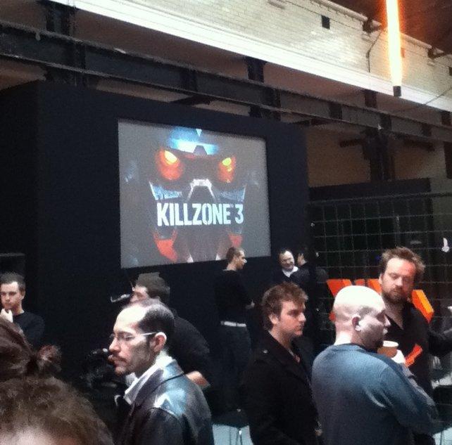In London waren viele neue Spiele für PlayStation 3 spielbar. Im Bild: Killzone 3.