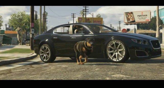 Ob ihr in GTA 5 sogar Haustiere halten könnt?