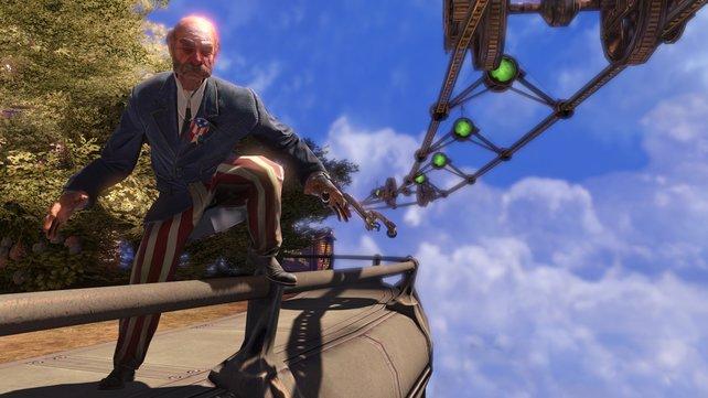 Bioshock Infinite verlegt das Szenario auf die Wolkenstadt Columbia.